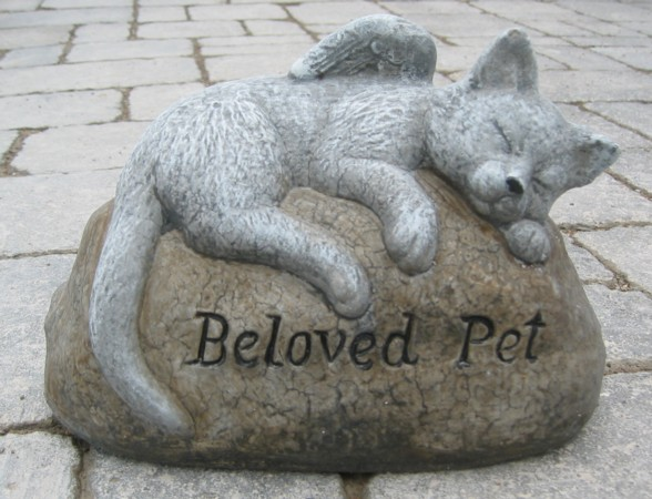 Beloved Pet Cat Stone