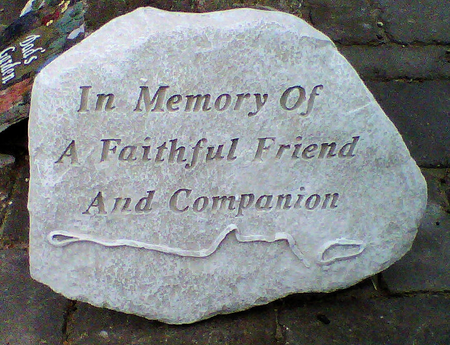 Faithful Friend Plaque