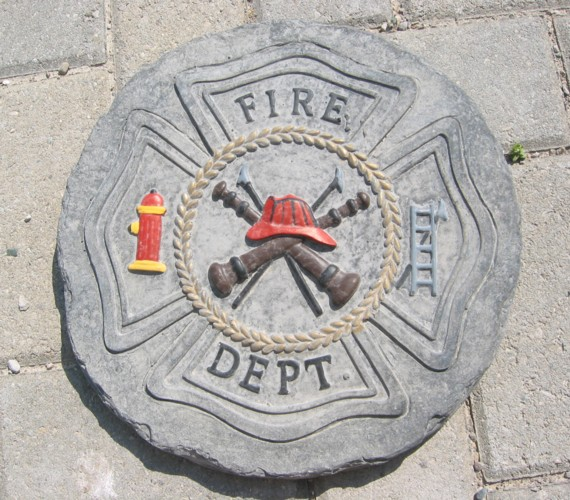 Fire Dept Plaque