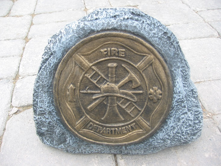 Fireman Rock with Maltese Cross