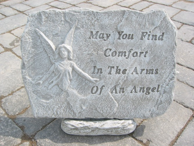 May you find comfort Plaque