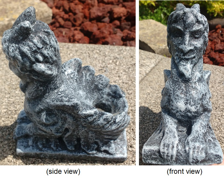 Sphinx Candle Holder