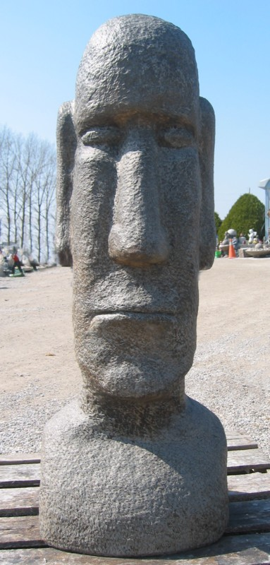 Tall, XL Easter Island
