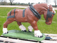 Head Down Clydesdale (Detailed Finish)