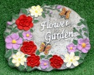 Flower Garden Plaque