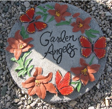 Garden Angel Wall Plaque