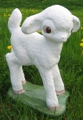 Standing Lamb (Detailed Finish)