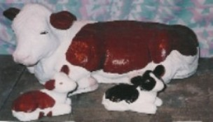 Hereford Calf (Detailed Finish)