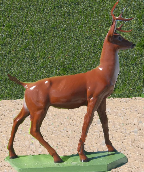 Life Size Standing Buck