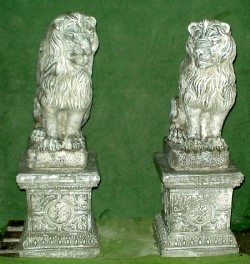 Right Sitting Lion (Base Sold Seperately)