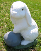 Standing Flop Eared Bunny (Detailed Finish)