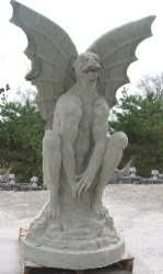 Six Foot Gargoyle (600 pounds)