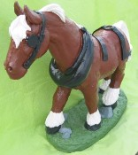 Small Clydesdale Horse (Detailed Finish)