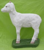 Small Standing Goat (Detailed Finish)