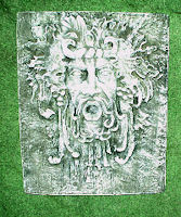 Square Bacchus Plaque