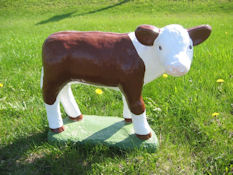 Standing Hereford (Detailed Finish)