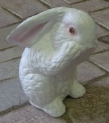 Crouched-Standing Bunny (Detailed Finish)