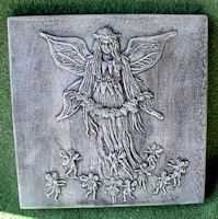 Angel and Fairies Patio Stone