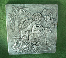 Child Angel with Jug Patio Stone