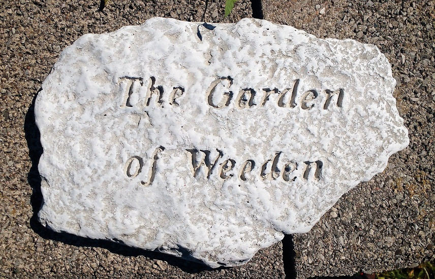 The Garden of Weeden Garden Stone