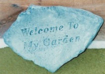 Welcome to my Garden Stone