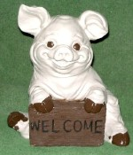 Welcome Pig (Detailed Finish)
